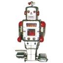ROBOT HELICE PLATEADO