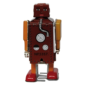 ROBOT LILLIPUT MARRON MINI