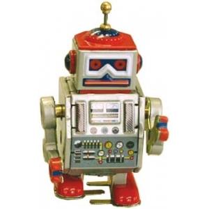 ROBOT PEQUEÑO ROJO