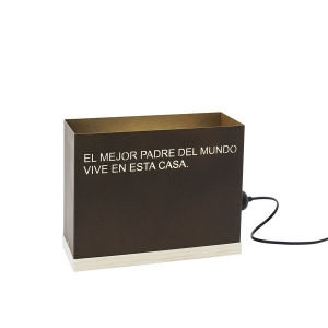 EL MEJOR PADRE DEL MUNDO VIVE EN ESTA CASA