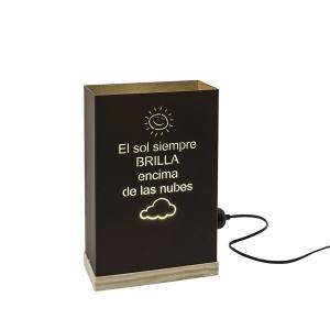 EL SOL BRILLA ENCIMA DE LAS NUBES